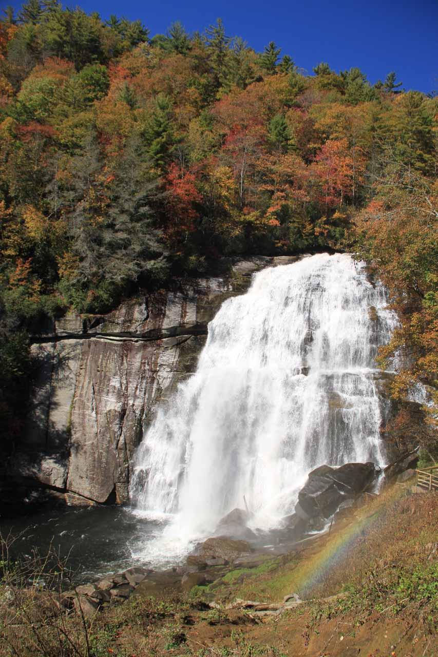 Rainbow Falls Pisgah National Forest North Carolina USA