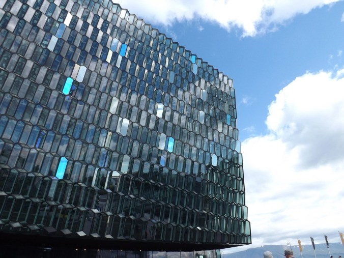 Travel took me to the Harpa concert hall, but what I left behind is just as important.