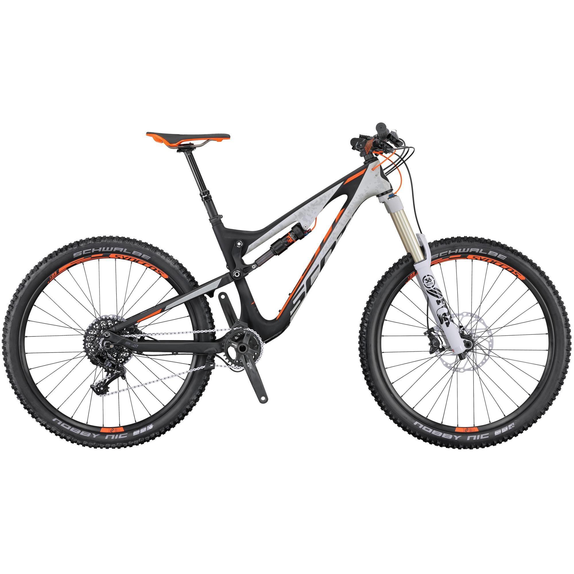 Test VTT Scott SCOTT Genius LT 710 Plus Bike 2016 (test