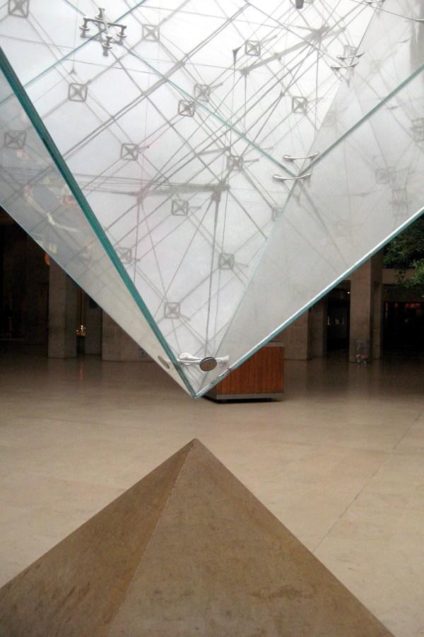Louvre Pyramid Paris Inside