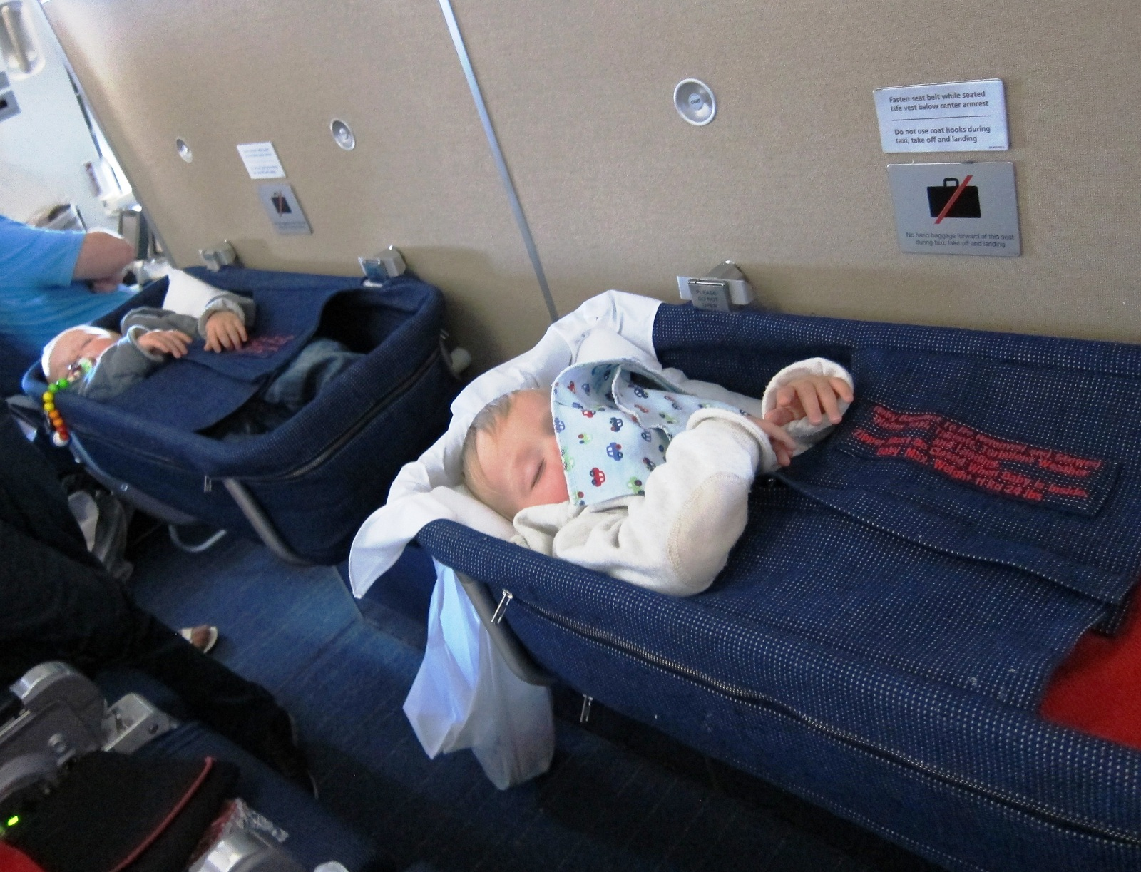 Baby in the Airplane Baby seats special