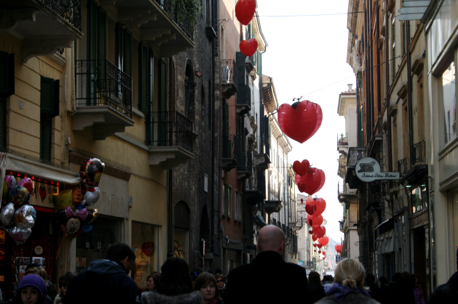 Event Holiday Verona Italy Valentines Day Street View