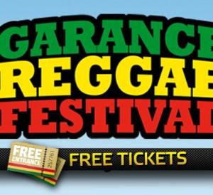 Free Tickets Garance Reggae Festival