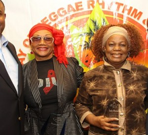 Christopher Roberts, Marcia Griffiths, Judy Mowatt and Chris Chin