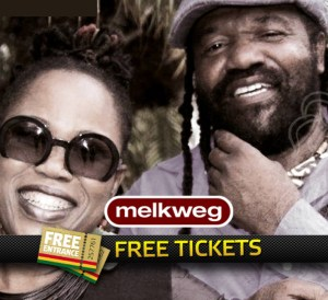 2x 2 Free Tickets to Tony Rebel & Queen Ifrica at Melkweg Amsterdam.