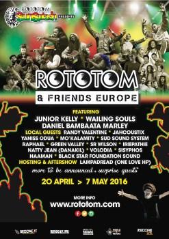 Rototom & Friends