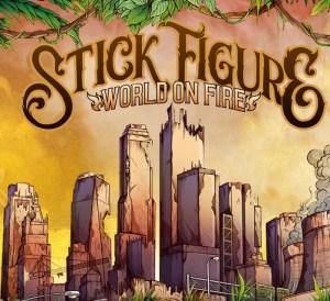 World On Fire Stick Figure