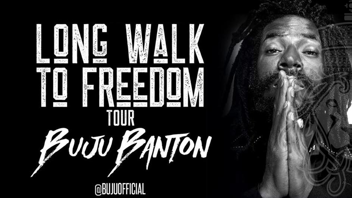 "Buju Banton's ""Long Walk To Freedom"" Tour Officially Kicks Off On March 16th"