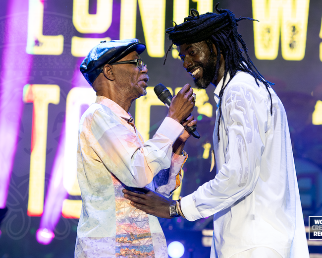 Buju Banton with Beres Hammond