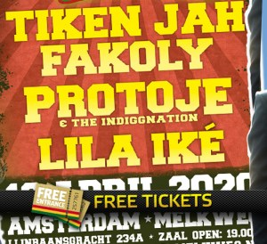 2x 2 Free Tickets to The Easter Special Melkweg Amsterdam