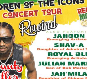 Reggae Month Jamaica, February 9 - Children of the Icons Rewind & Reggae Month University 2