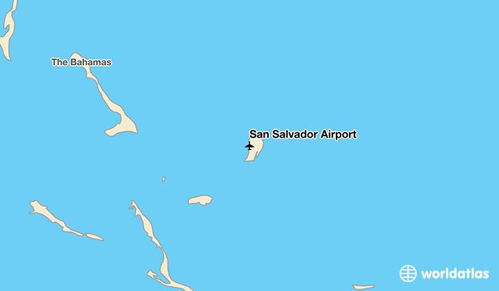 San Salvador Airport Zsa Worldatlas