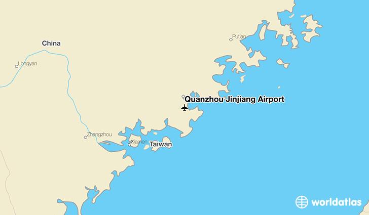 Quanzhou Jinjiang Airport Jjn Worldatlas