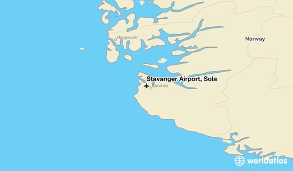 Stavanger Airport Sola SVG WorldAtlas