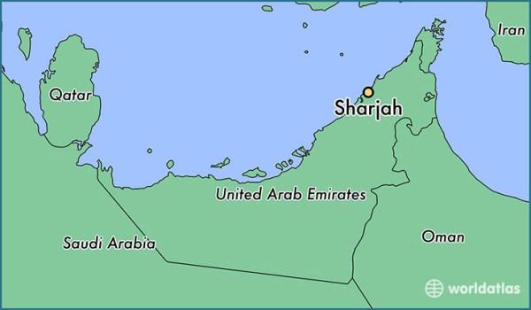 Where is Sharjah The United Arab Emirates Sharjah Ash