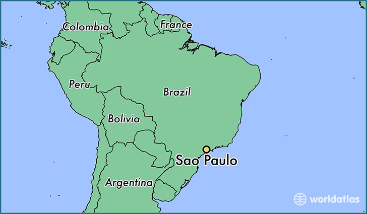 Image result for sao paulo location