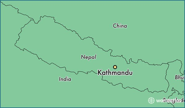 Where is Kathmandu Nepal Kathmandu Central Region Map