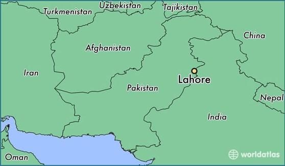 Αποτέλεσμα εικόνας για lahore map