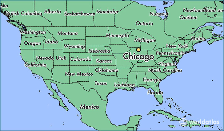 Image result for chicago map