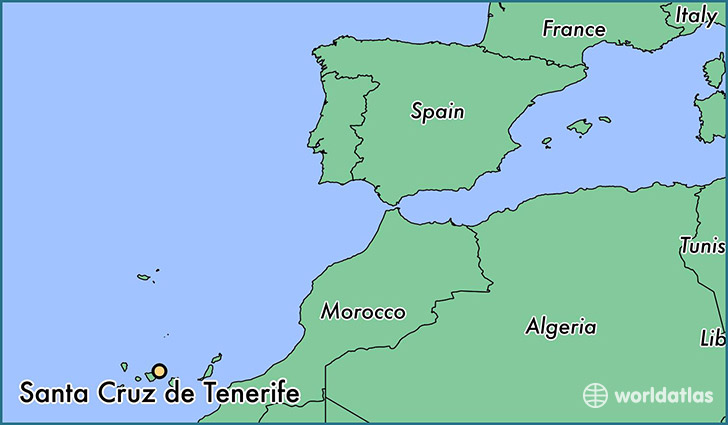Where Is Santa Cruz De Tenerife Spain Santa Cruz De