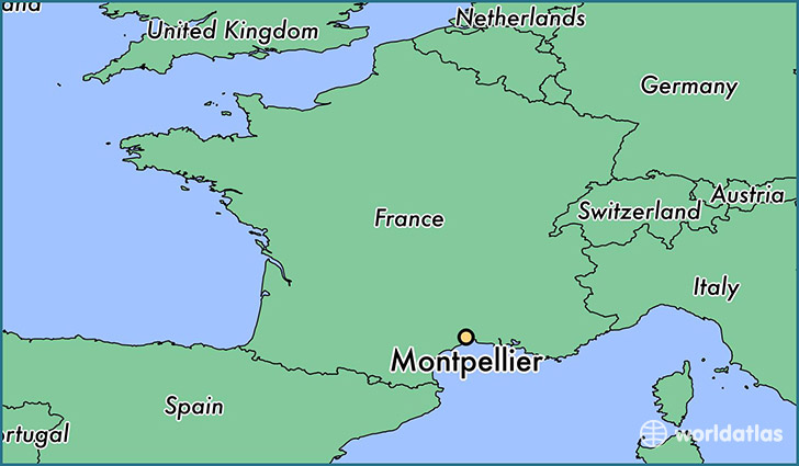 Image result for montpellier map