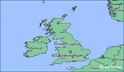 Αποτέλεσμα εικόνας για birmingham where is it