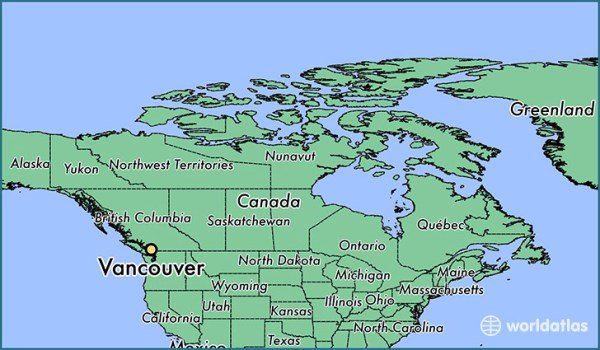Where is Vancouver BC Vancouver British Columbia Map