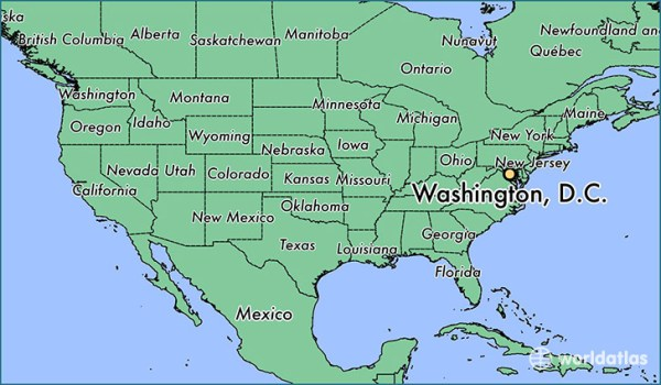 Where is Washington DC DC Washington DC