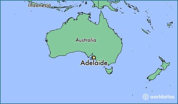 Where is Adelaide Australia Adelaide South Australia