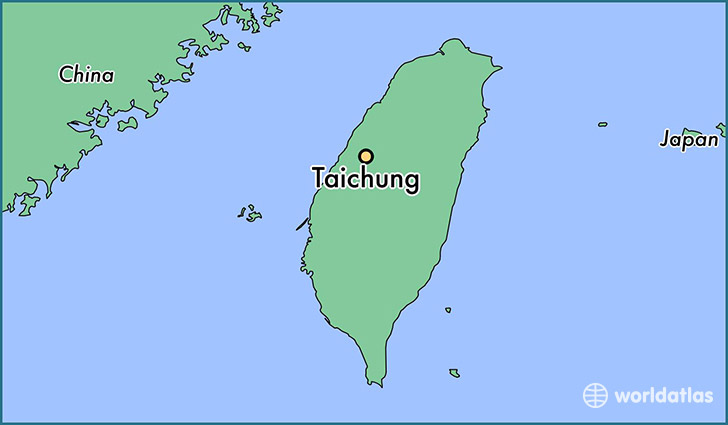 Image result for taichung map
