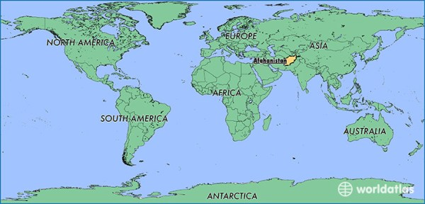 Where is Afghanistan Where is Afghanistan Located in