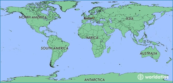 Where is Austria Where is Austria Located in The World