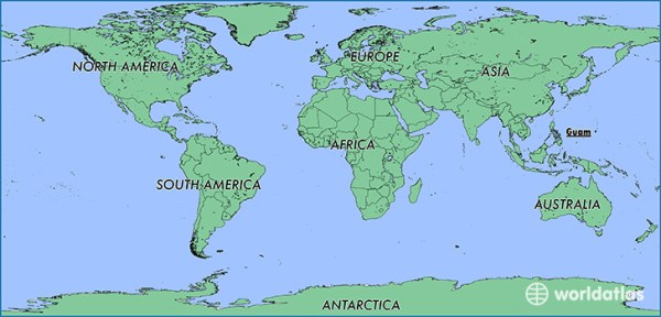 Where is Guam Where is Guam Located in The World