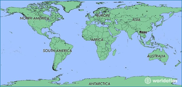 Where is Macao Where is Macao Located in The World