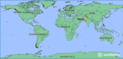 Αποτέλεσμα εικόνας για pakistan on a map