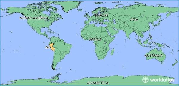 Where is Peru Where is Peru Located in The World