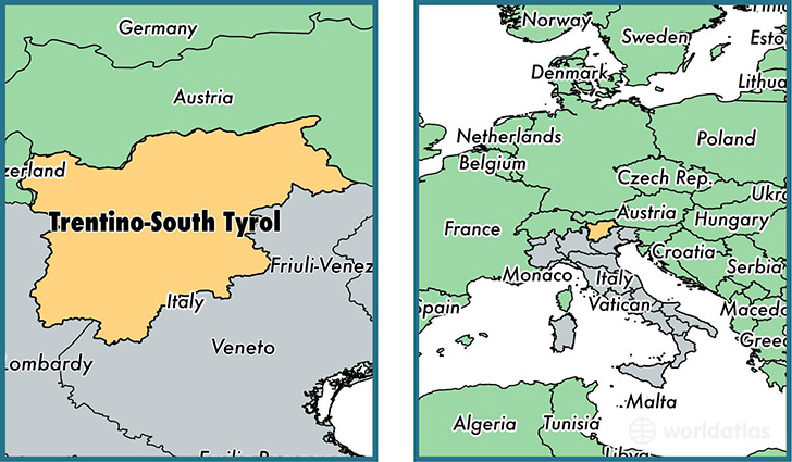 Image result for south tyrol map