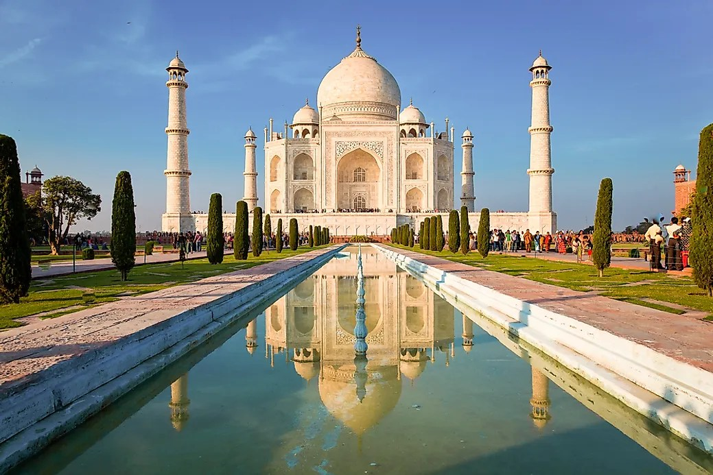 When Was The Taj Mahal Built Worldatlas Com