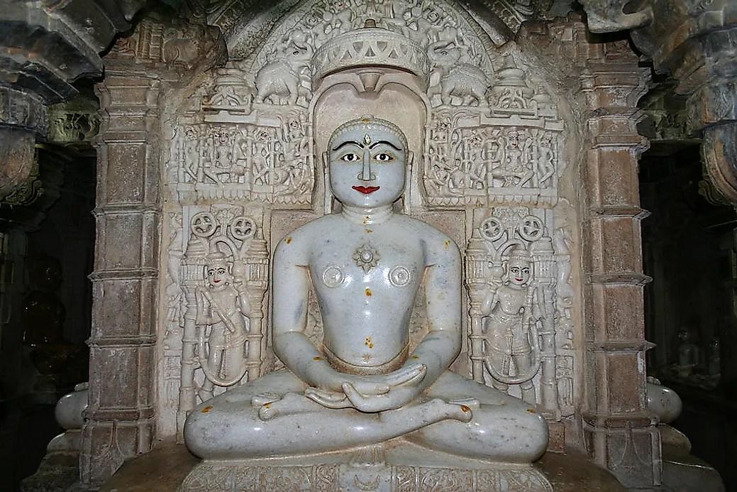 Jainism Religions of the World  WorldAtlascom