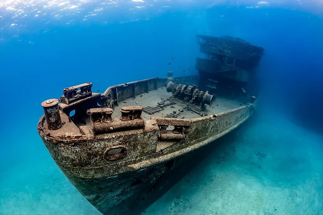 How Many Shipwrecks Are There  WorldAtlascom