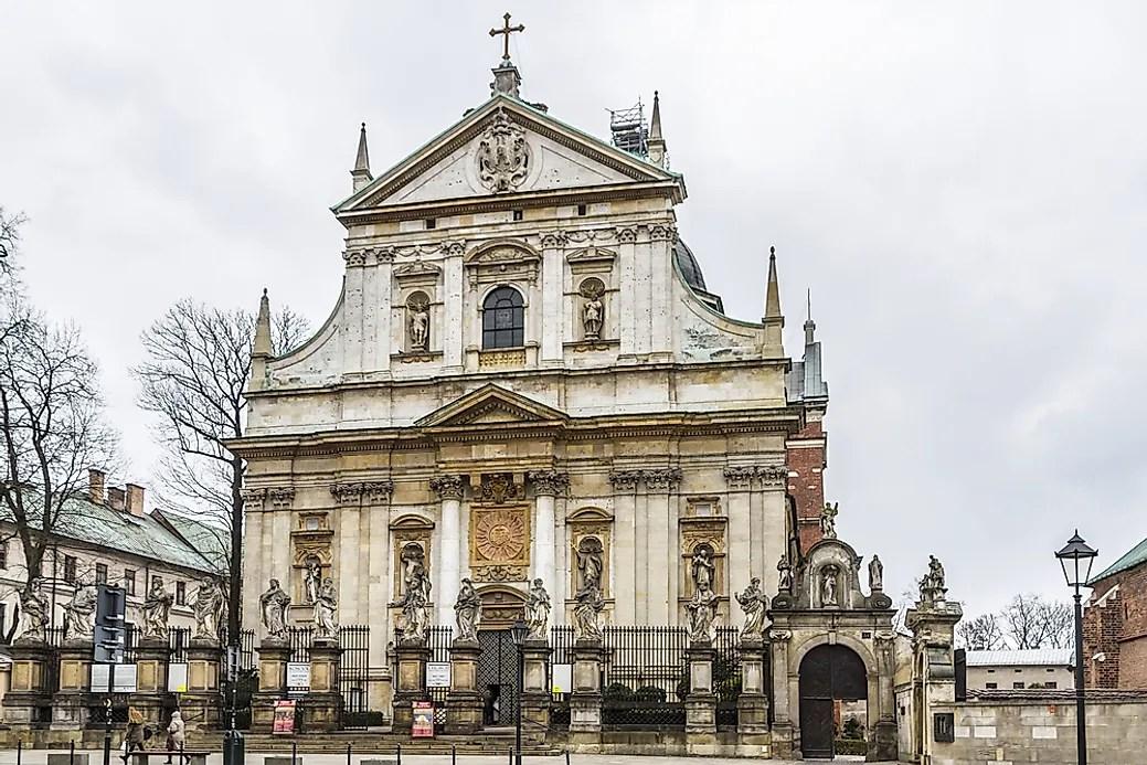 Major Religions in Poland  WorldAtlascom
