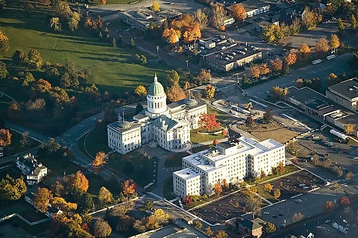 What Is the Capital of Maine  WorldAtlascom