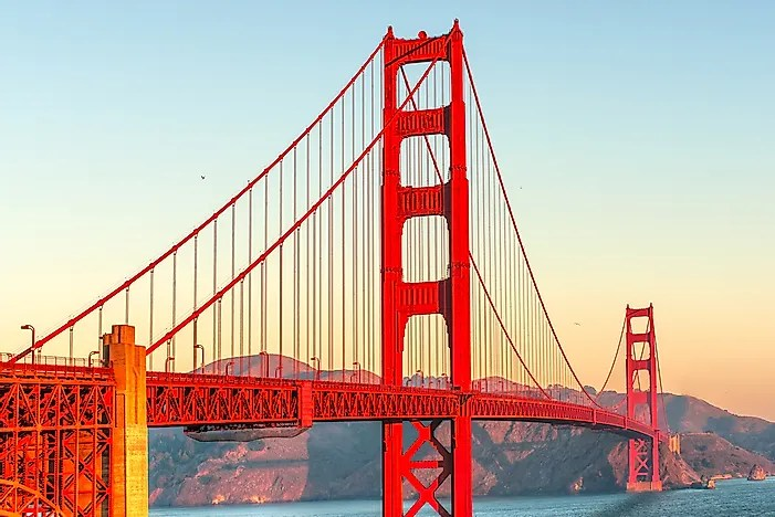 #7 Golden Gate Bridge - California, USA