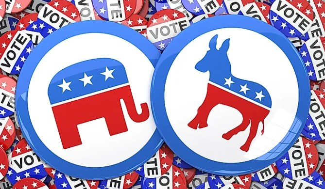Image result for gop vs dem
