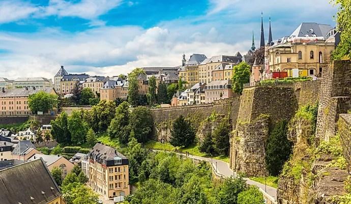 os países mais ricos do mundo - luxemburgo