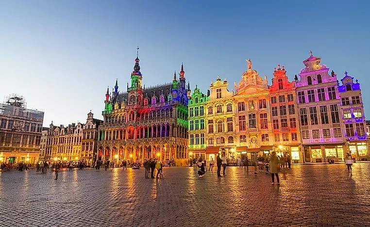 biggest cities in belgium