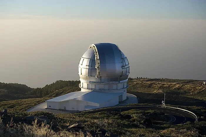 the biggest telescopes in