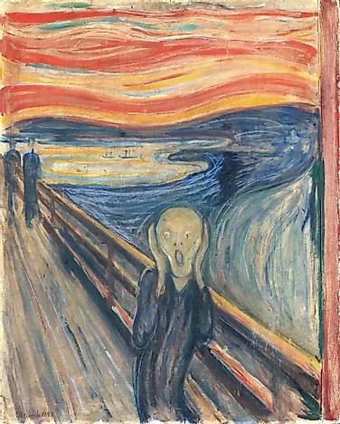 #4 The Scream (National Gallery, Oslo)