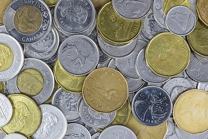 What is the Currency of Canada  WorldAtlascom