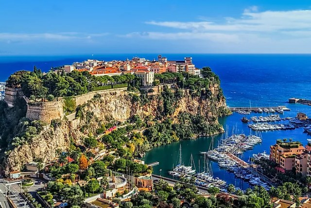 #2 Monaco - 1.95 sq km